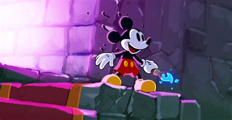 Image Epic Mickey Power Of Illusion 3ds Disneywiki