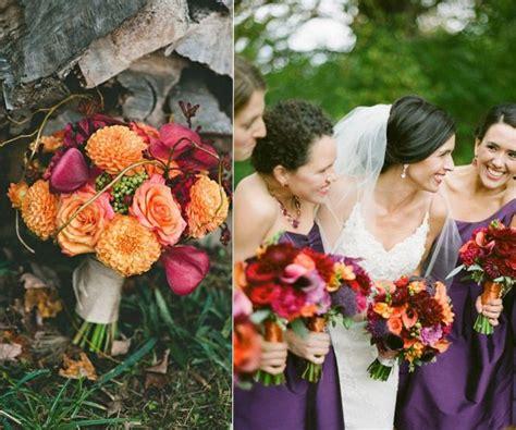 Hot Fall Wedding Colour Combinations 2014