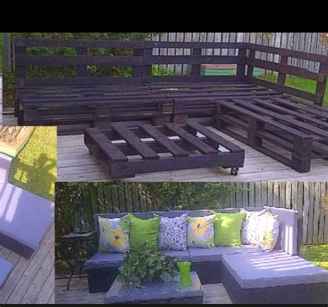garden furniture made with pallets pallet ideas