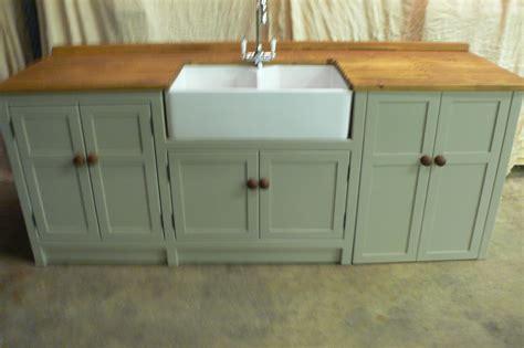 Freestanding Belfast Sink Unit Freestanding Pine Kitchen