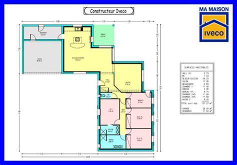plan maison en l 4 chambres constructeurvendee plans de maisons