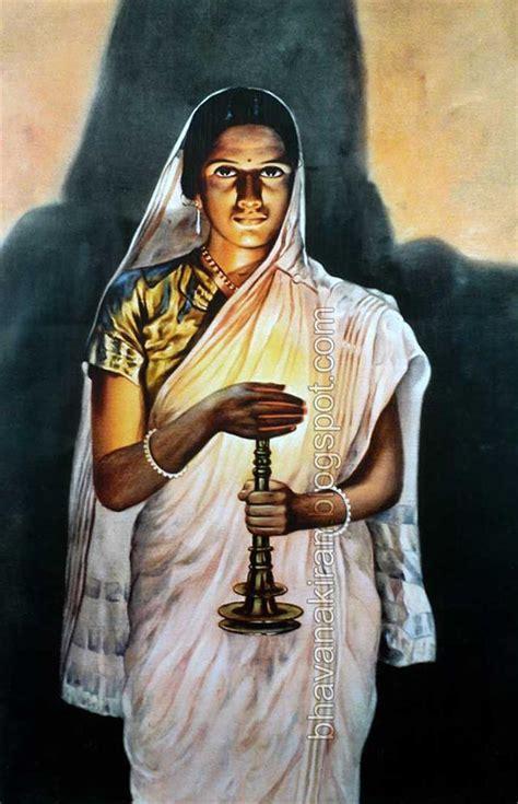 indian paintings ravi varma raja painting lady artists traditional verma oil famous lamp portrait woman artist unforgettable work awards ladies