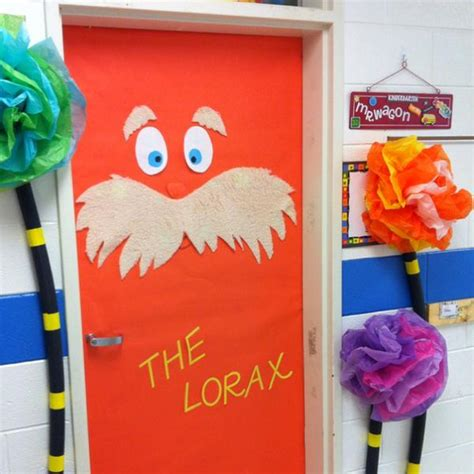 dr seuss door decorating ideas never stop growing end of the year bulletin board