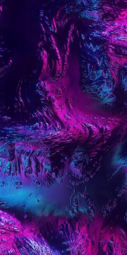 Neon Abstract Texture Phone Wallpapers Dark Iphone