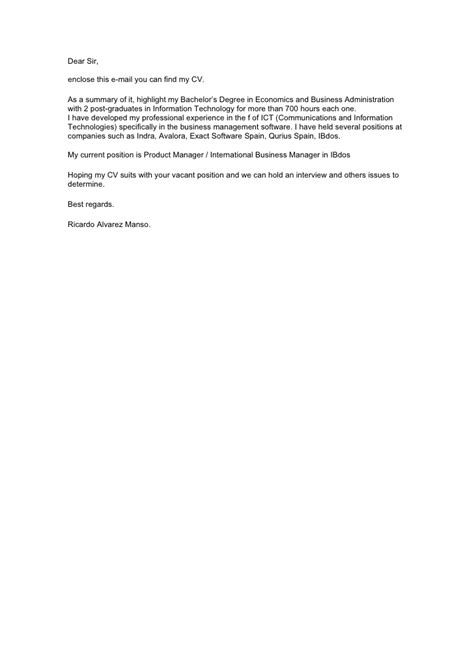 english  letter