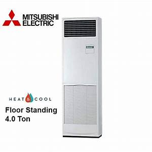 Pvc Mitsubishi Floor Standing Ac  For Residential Use  Rs 35000   Unit
