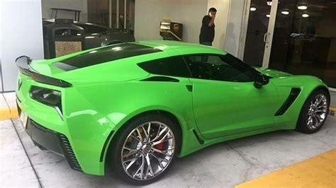 C7 Corvette Aftermarket Colors