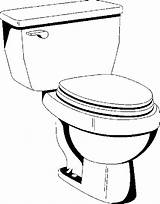 Toilet Bathroom Coloring Pages sketch template