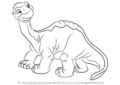 Little Foot Coloring Pages - Sanfranciscolife