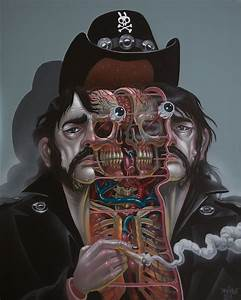 Cutaway Portraits Of Pop Culture Icons By Nychos