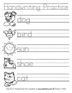 color words handwriting worksheets google search