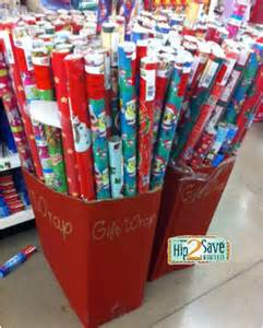 dollar tree hot free american greetings dora or spongebob holiday wrapping paper hip2save