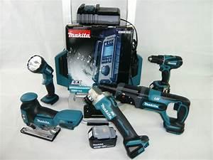 Akku Werkzeug Set : makita 18v 3x5ah bl1850b akku werkzeug maschinen set dlx7007tj 4xmakpac trolley ebay ~ Yasmunasinghe.com Haus und Dekorationen