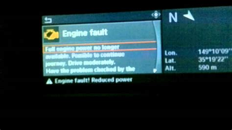 bmw   engine fault reduced power