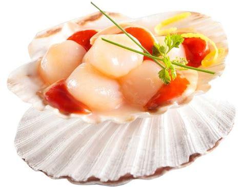 cuisiner des noix de st jacques avec corail noix de st jacques avec corail 400 g surgelé livré chez