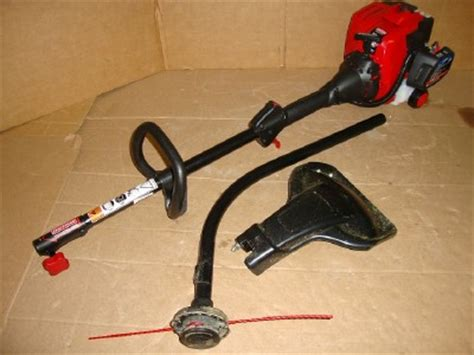 craftsman weedwacker gas trimmer 25cc 2 cycle curved