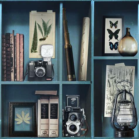 superfresco easy wallpaper curiosite biblio blue at wilko