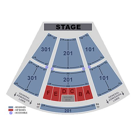 ava amphitheatre tucson  schedule seating chart directions