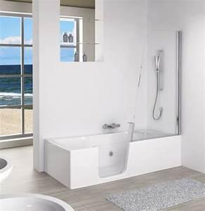 Baignoire Douche Italienne : les baignoires douches pratiques et esth tiques inspiration bain ~ Melissatoandfro.com Idées de Décoration