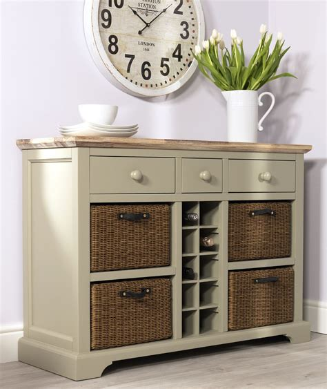 Wine Sideboard by Florence Sideboard With Wine Rack Kitchen Sideboard And