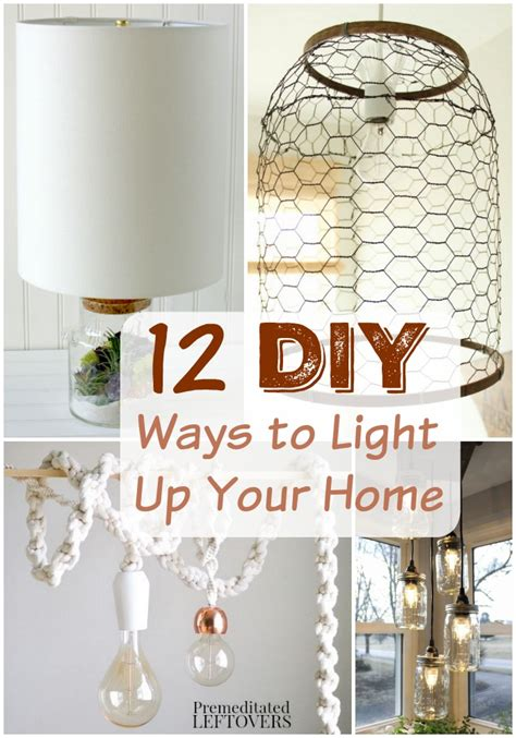 12 diy light fixtures and ls tutorials