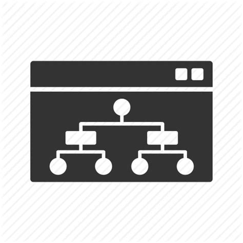 Business, Chart, Plan, Planing, Report, Sitemap Icon