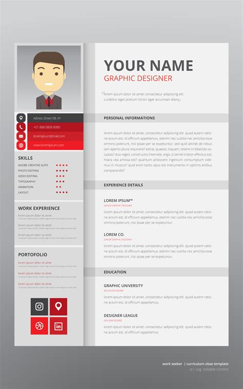 Cv Search by Search Curriculum Vitae Template Free