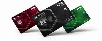 Visa Card Crypto Cards Mco Debit Metal