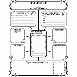 All About Me Web Graphic Organizer Posters - SC-0545015375 ...