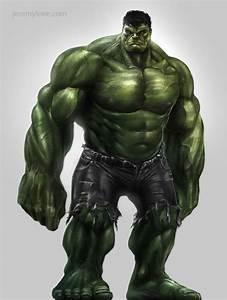 Thor, Hulk & Captain America Concept Art For THE AVENGERS ...