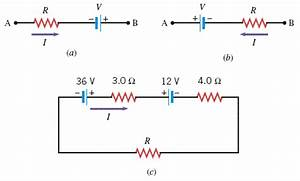 Solved: Using Kirchhoff's Loop Rule, Find The Value Of The ...