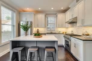 kitchen island breakfast bar designs contemporary kitchen with flat panel cabinets by dan rak