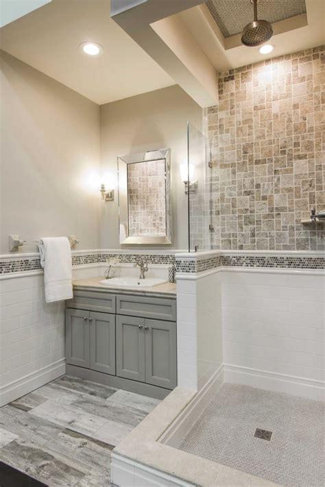 warm bathroom ideas  pinterest stone bathroom
