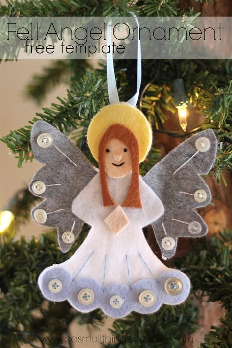 adorable felt ornaments catholic sprouts