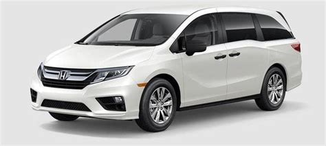 Odyssey Trim Levels by 2019 Honda Odyssey Trim Levels Odyssey Price Options
