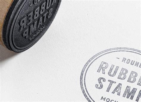 rubber stamp psd mockup creative alys