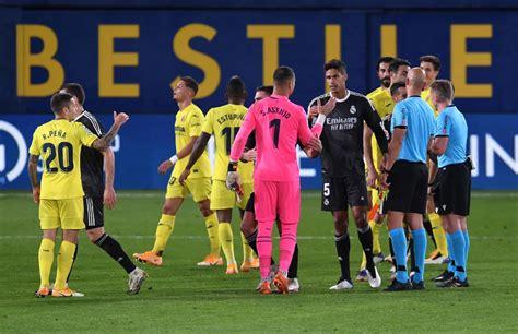 Villarreal vs Real Madrid: Moreno's Goal Deny Los Blancos ...