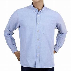 Buy Oxford Blue Shirt for Men with Button Down Collars