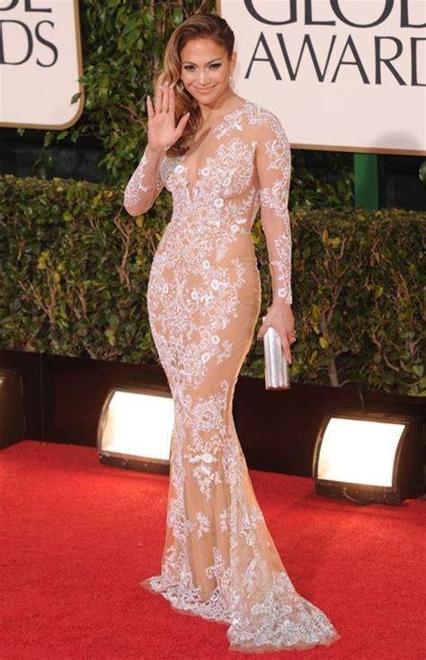 Dress Jennifer Lopez Sheer Lace Wheretoget