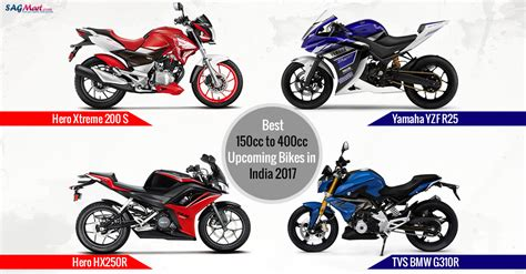 150cc To 400cc Forthcoming Motorcycles 2017