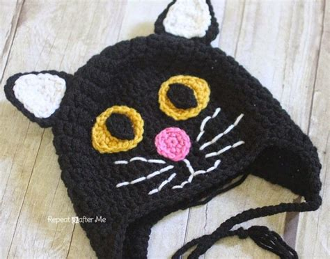 crochet hats for cats 1000 ideas about crochet cat hats on crochet