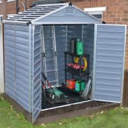 6 x 5 palram skylight plastic grey shed