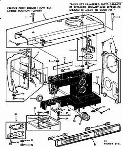 Kenmore Singer Sewing Machine Parts