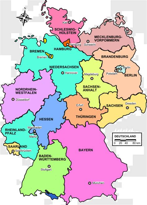 Germany Map Map Pictures