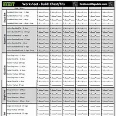 Team Beachbody Worksheets The Best Worksheets Image Collection  Download And Share Worksheets