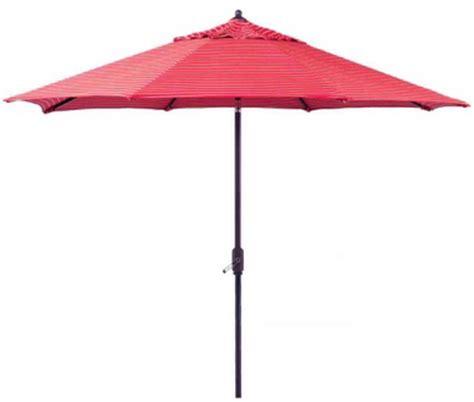 new large 10 patio market umbrella crimson stripe