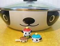 panda frying pan 343 best All things panda! images on Pinterest