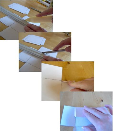 Lidded Box Template by Things To Make And Do Make And Decorate A Lidded Square Box