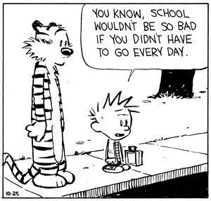 image result for calvin and hobbes bad day quotes 808 | 94c47898d0c70290cda8c3a5819b1861