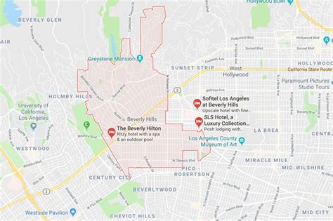 Beverly Hills Earthquake Warning As Fault Line Map Shows